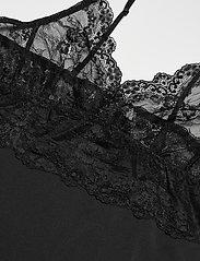 Rosemunde - Strap dress - bodies & slips - black - 2