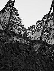 Rosemunde - Strap dress - bodies & slips - black - 3
