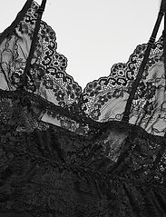 Rosemunde - Strap dress - bodies en onderjurken - black - 3