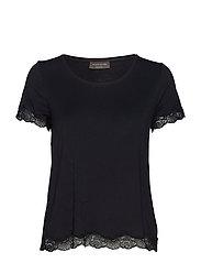 T-shirt ss - BLACK
