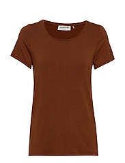 T-shirt ss - AMBER BROWN
