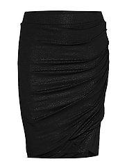 Skirt - BLACK SHIMMERING DOTS