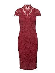 Dress ss - SCARLET RED