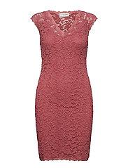 Dress ss - ROSE WINE