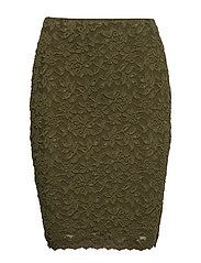 Skirt - BURNT OLIVE