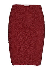 Skirt - BURNT RED