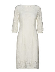 Dress 3/4 s - IVORY