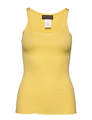 Silk top regular w/elastic band - CORN
