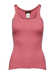 Silk top regular w/elastic band - ROSE WINE