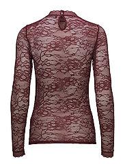 T-shirt regular ls w/lace