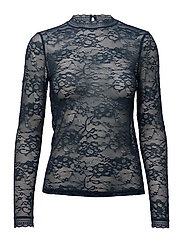 T-shirt regular ls w/lace - MOONLIT OCEAN