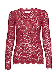 T-shirt ls - RASPBERRY RED