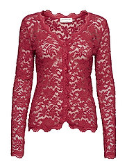 Cardigan ls - RASPBERRY RED