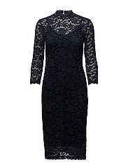 Dress 3/4 s - DARK BLUE