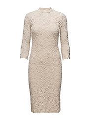 Dress 3/4 s - SOFT IVORY