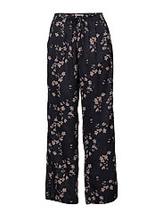 Trousers - JAPANESE FLOWER PRINT