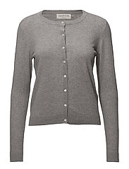 Cardigan ls - LIGHT GREY MELANGE