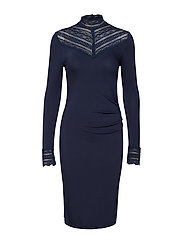 Dress ls - DARK BLUE