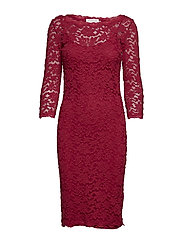 Dress 3/4s - RASPBERRY RED