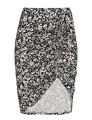 Skirt - IVORY SMALL FLORAL PRINT