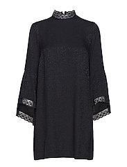 Dress 3/4 s - BLACK
