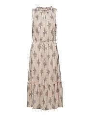 Rosemunde Dress - VINTAGE POWDER FLOWER PRINT