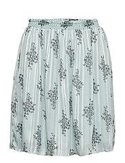 Skirt - CLOUD BLUE FLOWER PRINT