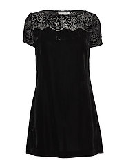 Dress ss - BLACK