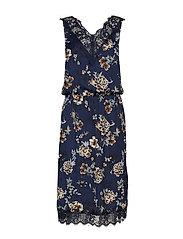 Dress - BLUE BLOSSOM PRINT