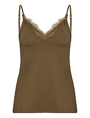 Strap top - MILITARY OLIVE