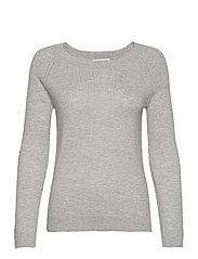 Pullover ls - LIGHT GREY MELANGE