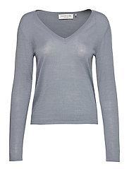 Merino pullover ls - MIST