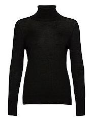 Pullover ls - BLACK