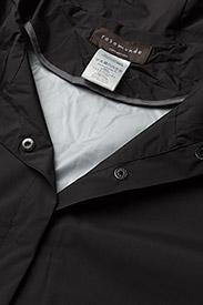 Rosemunde - Cape - manteaux de pluie - black - 3