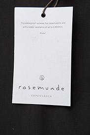 Rosemunde - Cape - manteaux de pluie - black - 6