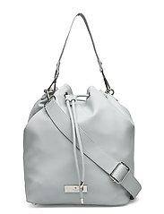 Bag medium - BABY BLUE SILVER