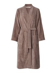 robe - DUSTY BROWN