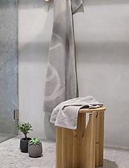 Rosemunde - towel 45x65cm - ręczniki kąpielowe - charcoal grey - 3