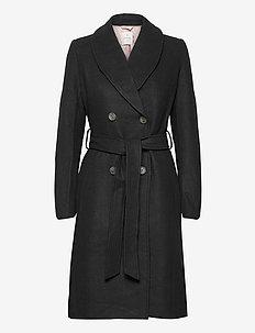 Coat ls - trenchcoats - black