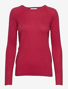 Pullover ls - RASPBERRY RED