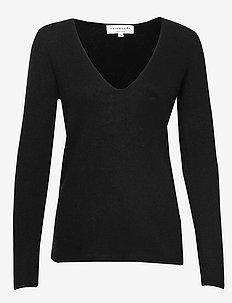 Pullover ls - kaschmir - black