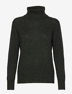 Pullover ls - kaszmir - black green