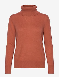 Pullover ls - COPPER BROWN