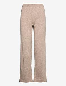 Trousers - broeken med straight ben - atmosphere melange