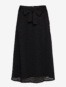 Skirt - maxi röcke - black