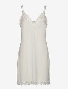 Strap dress - korta klänningar - ivory
