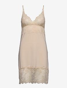 Strap dress - WHISPER BEIGE
