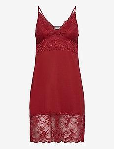 Strap dress - bodies en onderjurken - cranberry