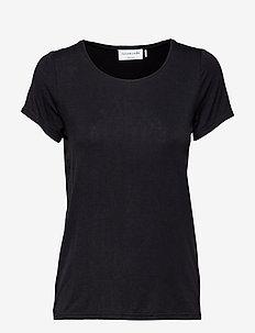 T-shirt ss - basis t-shirts - black
