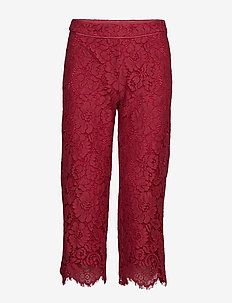 Trousers - SCARLET RED